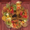 How to Make a Harvest Wreath for Under $15