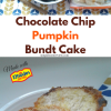 Pumpkin Chocolate Chip Bundt
