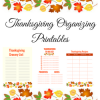Thanksgiving Planning Printables