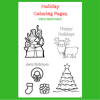Holiday Coloring Pages: Free Printable