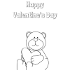 Valentine's Day Coloring Page: Free Printable