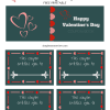 Valentine's Day Coupon Book: Free Printable