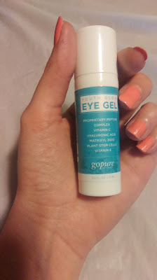 go pure eye gel
