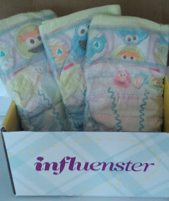 pampers influenster