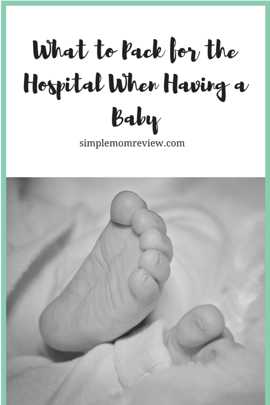 What to Pack for the Hospital When Having a Baby
