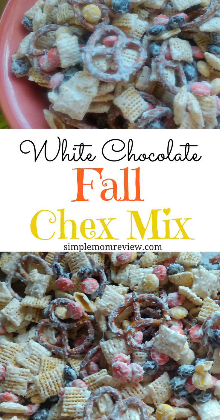 white chocolate fall chex mix (1)