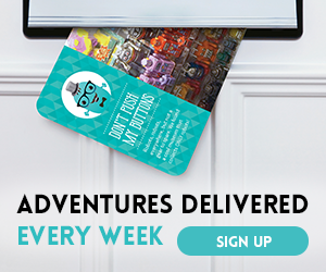 Kiwibop Postcard Pals delivers adventures to your child every week!