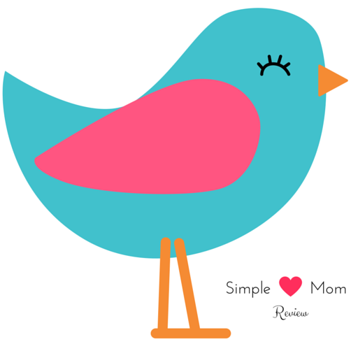 simple mom bird with text