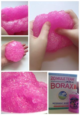 Glitter Slime collage