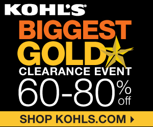 kohls biggest sale of the season