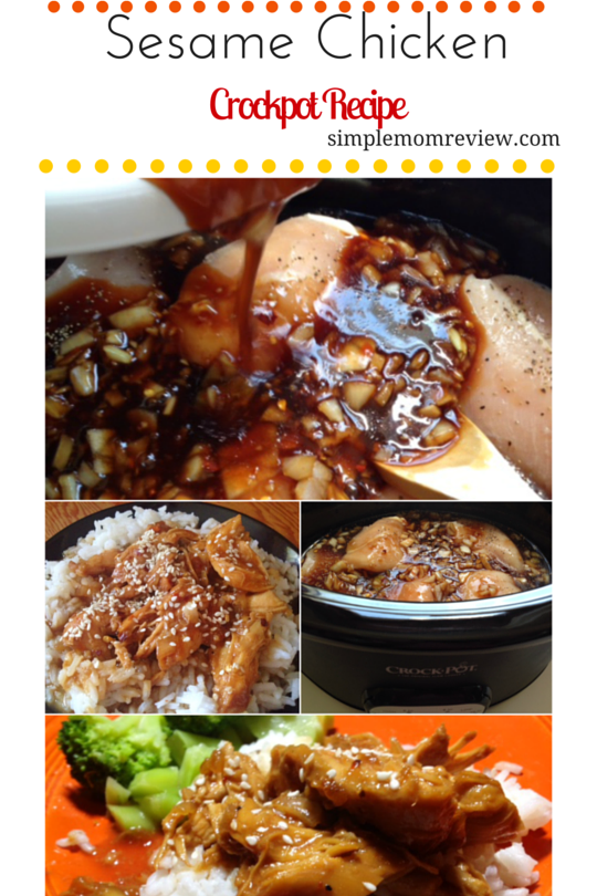 Sesame Chicken Crockpot Recipe Canva (1)