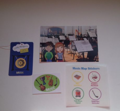 little passports stickers music