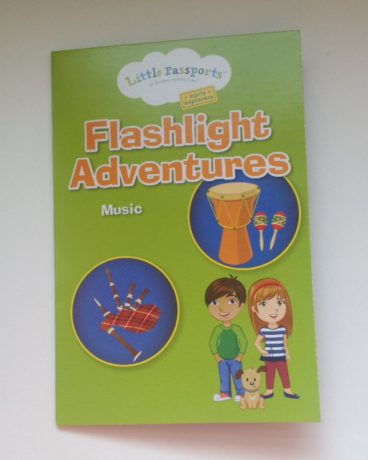 music flashlight book