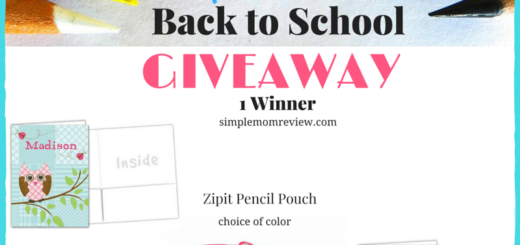 Back to School Blog Giveaway