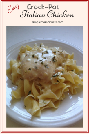 Creamy Italian Chicken (1)