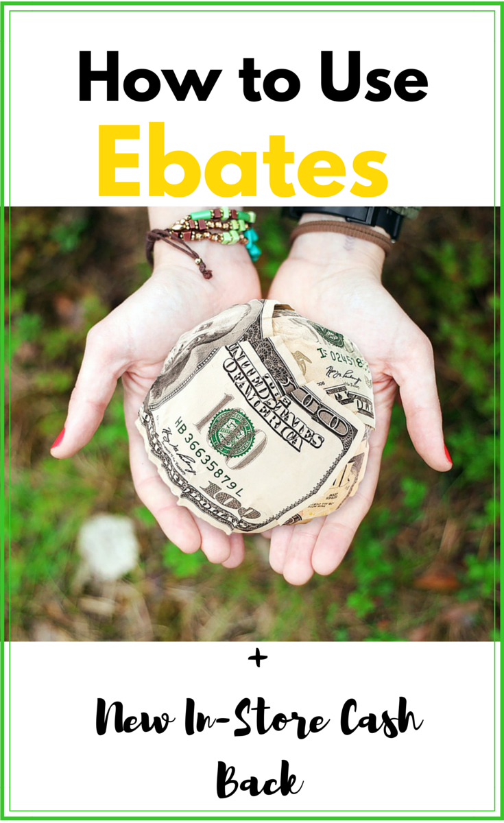 Ebates In-Store Cash back