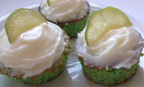 Key lime Cupcakes 2