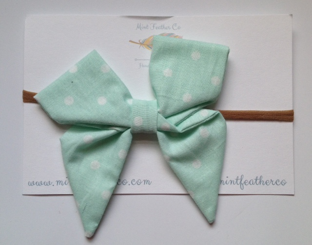 mint-and-feather-bow