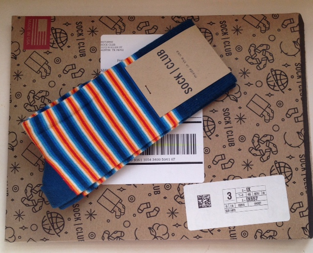 Call me crazy, but I just love new socks! There's something about new comfy  socks that make me happy, bonus if they have a fun print or cute design! - Sock Club Monthly Subscription - Simple Mom Review