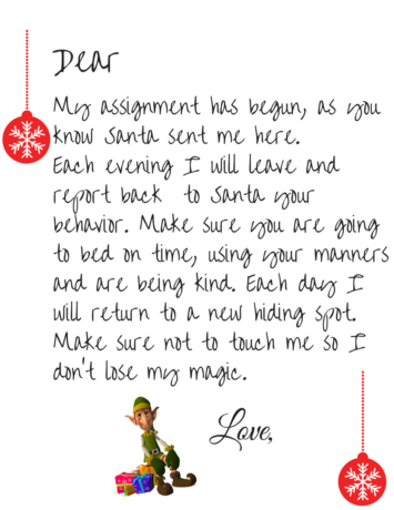 elf-welcome-letter