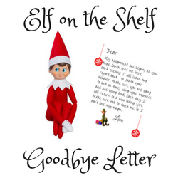 Elf on the Shelf Goodbye Free Printable Letter Simple Mom Review