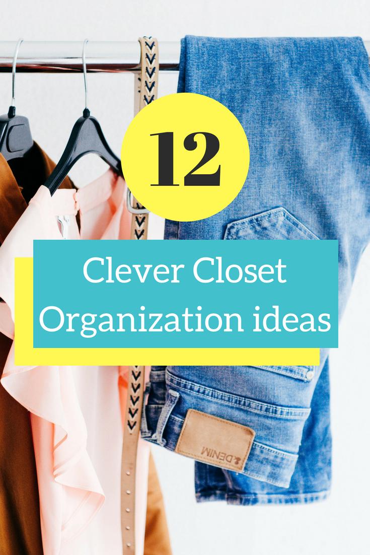 Home Hacks 12 Clever Closet Organization Ideas Simple Mom Review